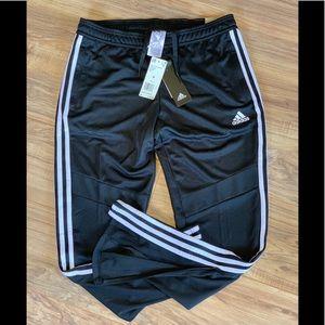 adidas Women's Tiro19 Training Pants, Black/White